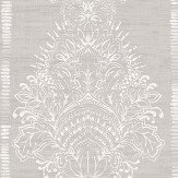 Arthouse Silk Road Damask Chalk Wallpaper