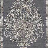 Arthouse Silk Road Damask Charcoal Wallpaper