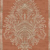 Arthouse Silk Road Damask Terracotta Wallpaper
