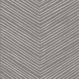 Arthouse Arrow Weave Charcoal Wallpaper