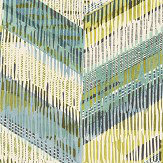 Arthouse Chevron Weave Lime Wallpaper