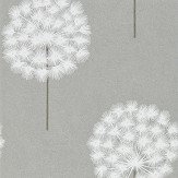 Harlequin Amity Silver/Chalk Wallpaper