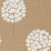 Harlequin Amity Brass/Pewter Wallpaper