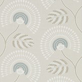 Harlequin Louella Seaglass/Pearl Wallpaper - Product code: 111910
