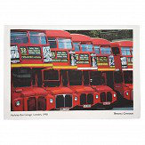 Brewers Home Hackney Bus Garage Tea Towel