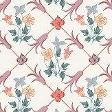 Boråstapeter Tessin Pink Wallpaper - Product code: 4504