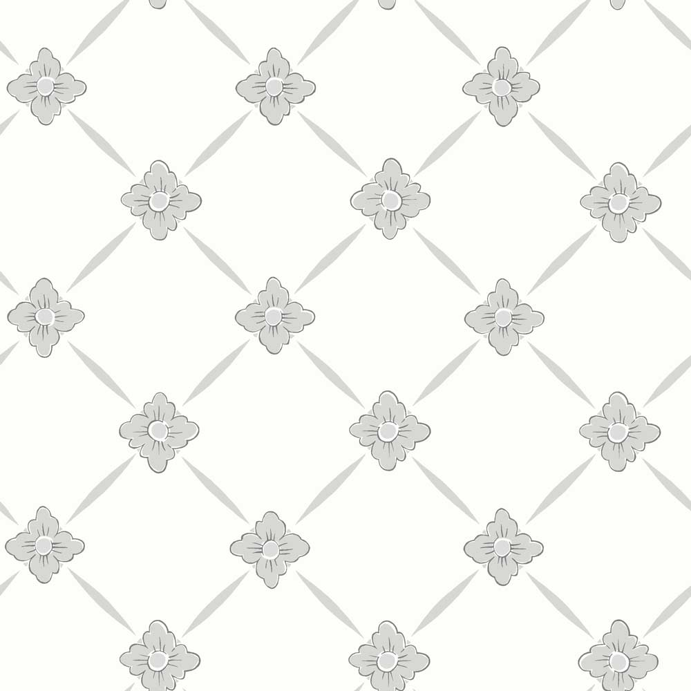 Boråstapeter Linné Dove Grey Wallpaper - Product code: 4505