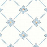 Boråstapeter Linné Blue Wallpaper - Product code: 4506