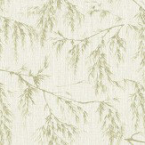 Arthouse Willow Tree Cream / Green Wallpaper - Product code: 698205