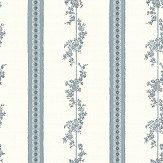 Boråstapeter Drottningholm Blue  Wallpaper - Product code: 4509