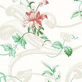 Boråstapeter Krusenberg Pink / Green Wallpaper - Product code: 4511