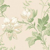 Boråstapeter Blomslinga Cream Wallpaper - Product code: 4519