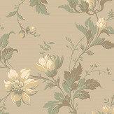 Boråstapeter Blomslinga Beige Wallpaper