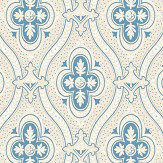 Boråstapeter Pigkammaren Powder Blue and Beige Wallpaper - Product code: 4527