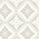 Boråstapeter Loka Cream and Silver Wallpaper - Product code: 4528