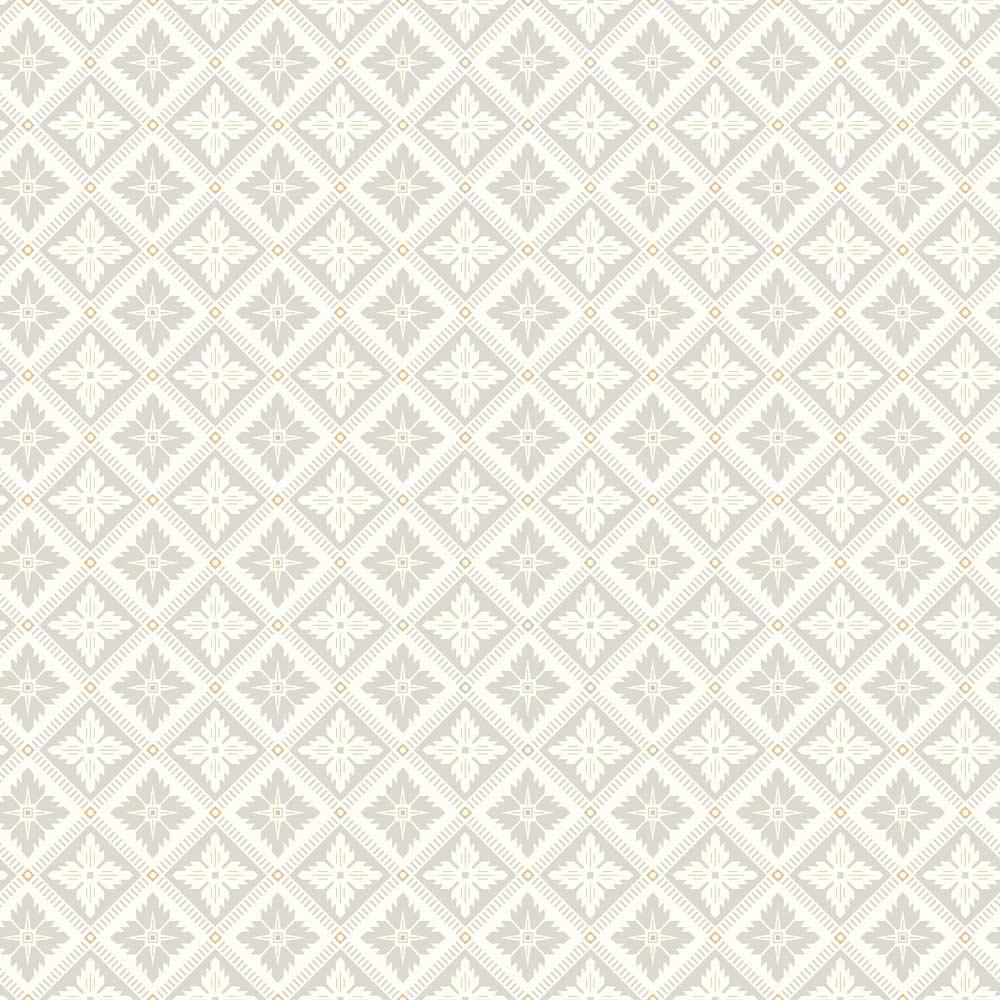 Boråstapeter Loka Cream and Silver Wallpaper - Product code: 4528