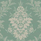 Boråstapeter Sofia Jade Green Wallpaper - Product code: 4532