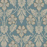 Boråstapeter Nora Blue Wallpaper - Product code: 4535