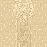 Boråstapeter Ellen Golden Beige Wallpaper