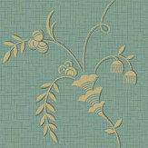 Boråstapeter Ulricehamn Turquoise Wallpaper - Product code: 4547