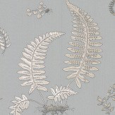 G P & J Baker Ferns Soft Blue Wallpaper