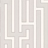 G P & J Baker Fretwork Grey Wallpaper - Product code: BW45007/8
