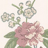 G P & J Baker Peony & Blossom Vintage Wallpaper - Product code: BW45066/8