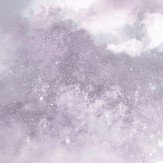 Arthouse Diamond Galaxy Lilac Wallpaper
