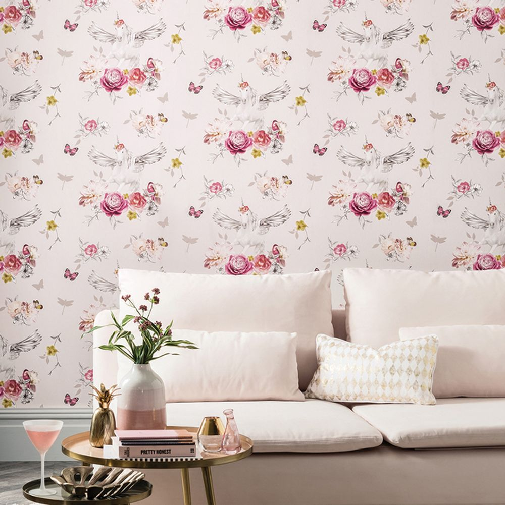 Arthouse Anastasia Pink Wallpaper - Product code: 692302