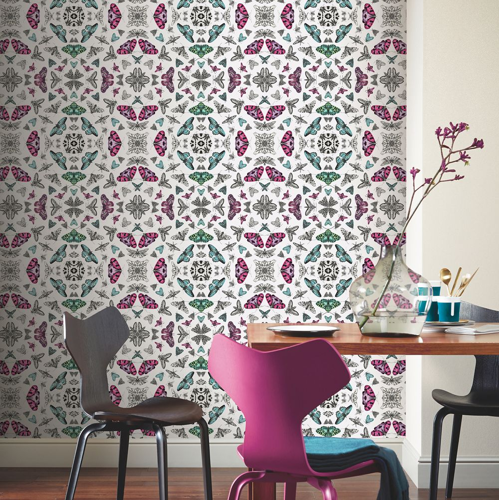 Arthouse Glitter Bug White Wallpaper - Product code: 692308