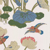 G P & J Baker Nympheus Multi-coloured Wallpaper - Product code: BW45083/1