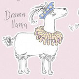 Albany Llama-Rama Blush Wallpaper - Product code: 9731
