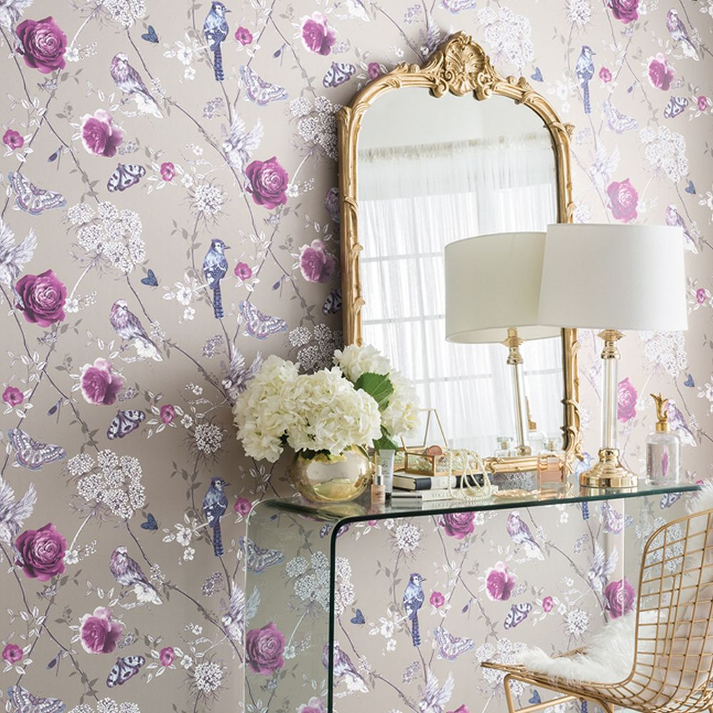 Arthouse Paradise Garden Gilver Wallpaper - Product code: 692402