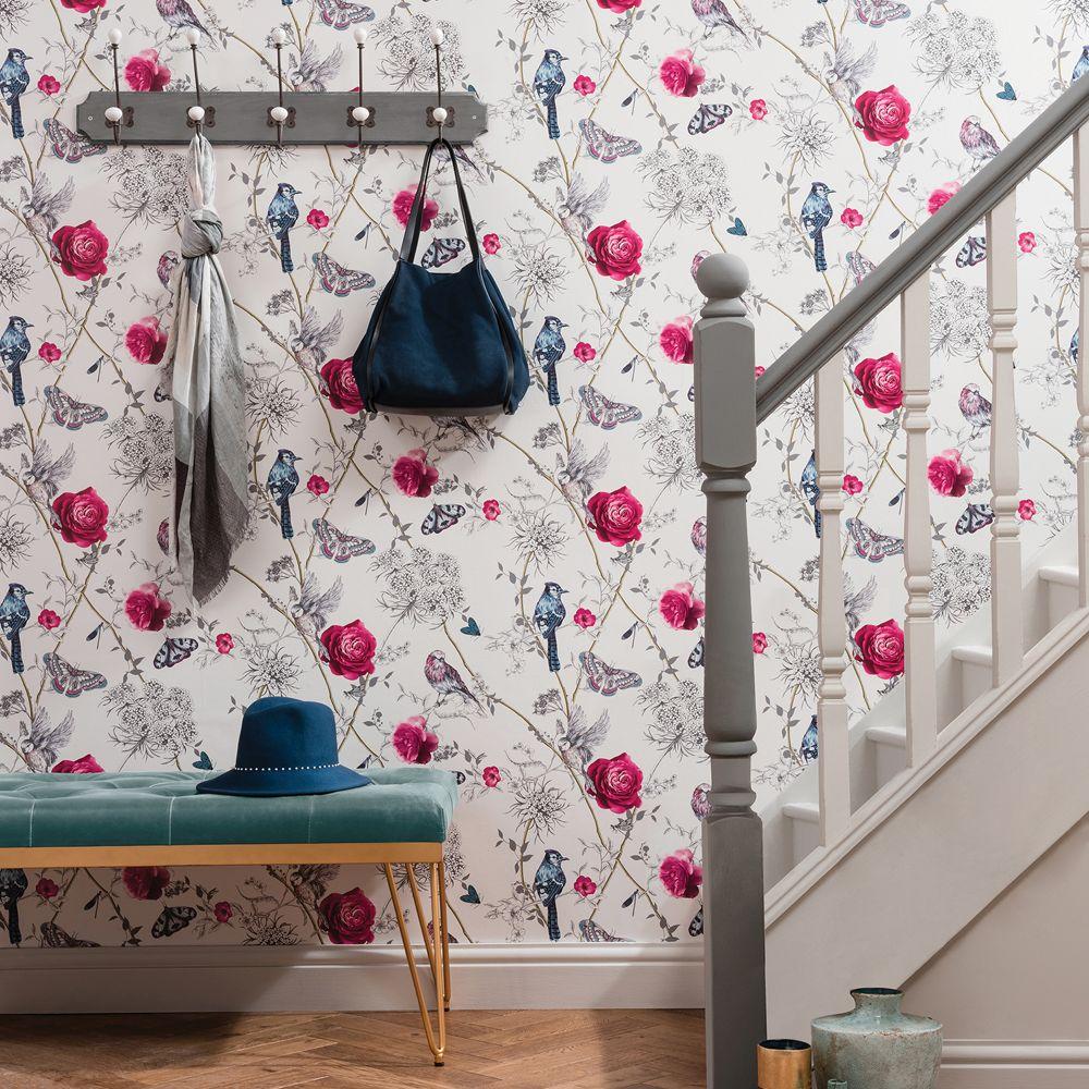 Arthouse Paradise Garden White Wallpaper - Product code: 692405
