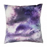 Arthouse Diamond Galaxy Cushion Purple