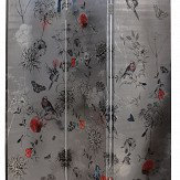 Arthouse Paradise Garden Room Divider Metallic Silver