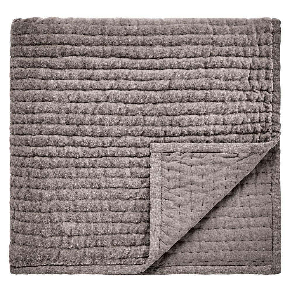 Harlequin Makrana Velvet Throw Silver Grey - Product code: DA184619035