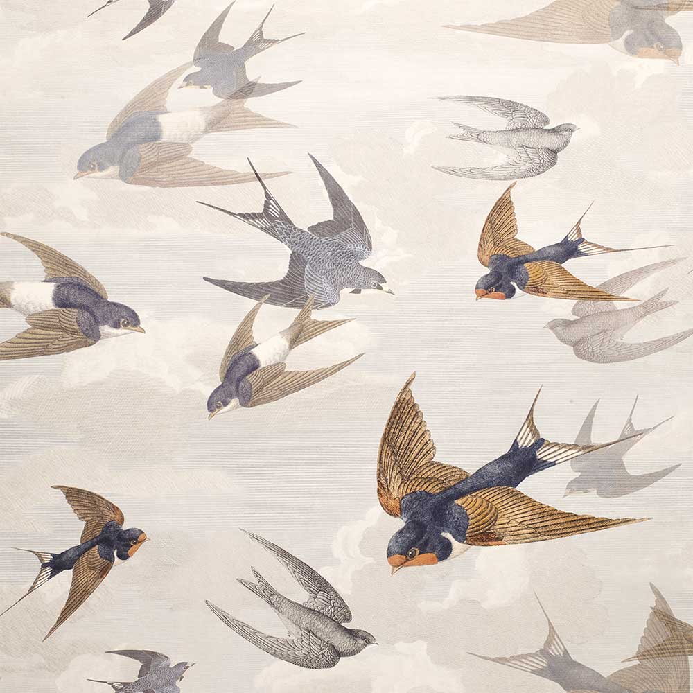 Designers Guild Chimney Swallows Dawn Wallpaper - Product code: PJD6003/04