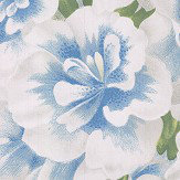 Designers Guild Variegated Azalea Swedish Blue Wallpaper