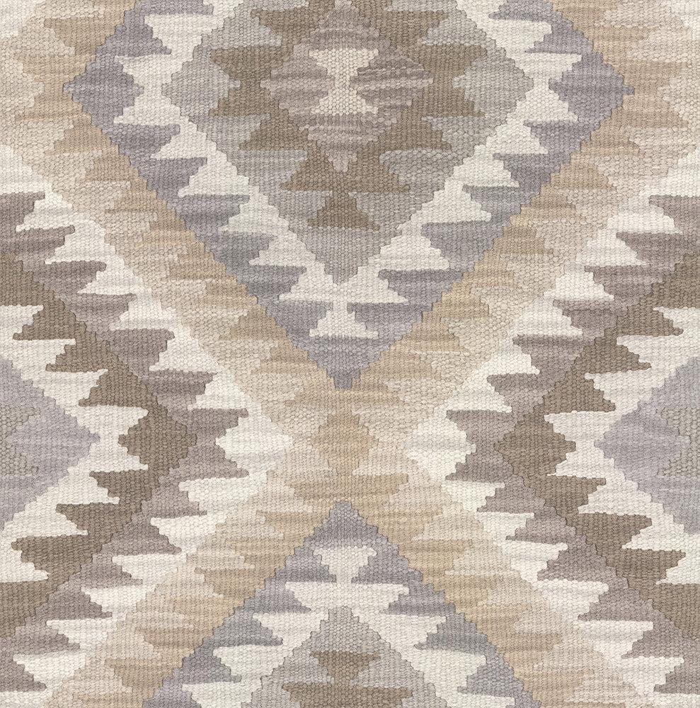 Albany Aztec Diamond Neutral Wallpaper - Product code: 527438