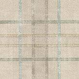 Mulberry Home Shetland Plaid Stone Wallpaper