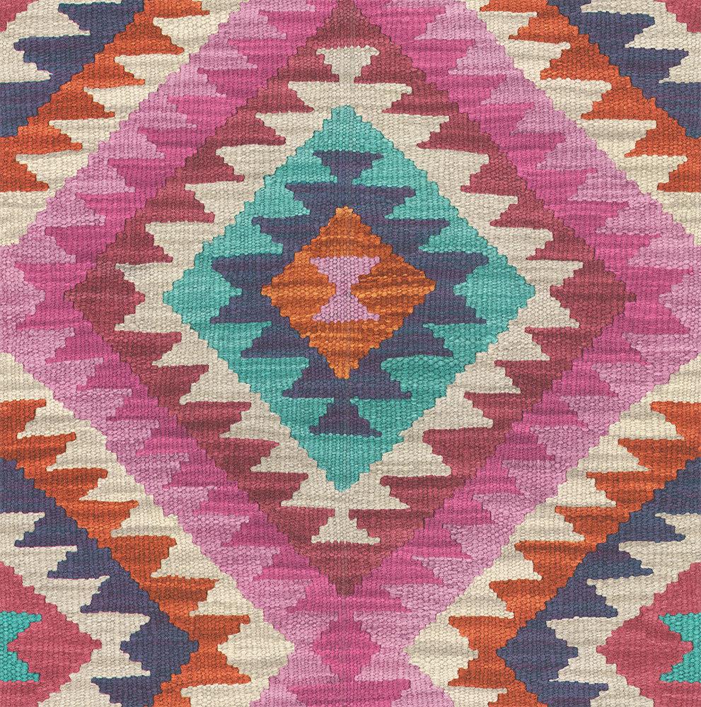 Albany Aztec Diamond Multi Wallpaper - Product code: 527445