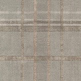 Mulberry Home Shetland Plaid Woodsmoke Wallpaper