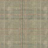 Mulberry Home Shetland Plaid Lovat Wallpaper