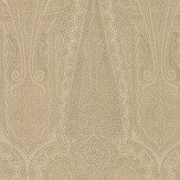 Mulberry Home Troika Paisley Sand Wallpaper