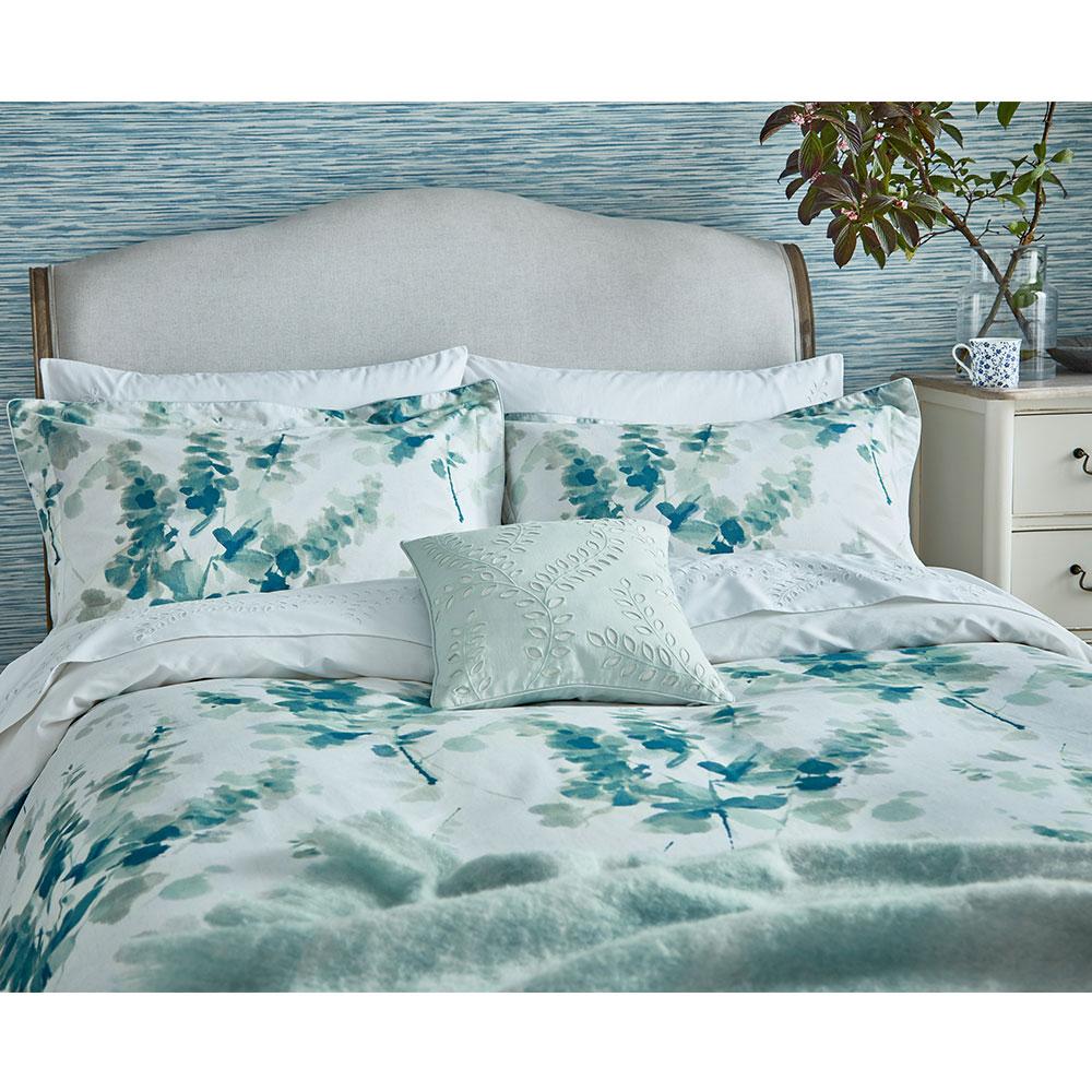 Sanderson Delphiniums Duvet Cover Mint - Product code: DA35941005