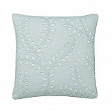 Sanderson Delphiniums Embroidered Cushion Mint - Product code: DA35941025