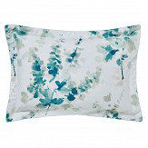 Sanderson Delphiniums Oxford Pillowcase Mint
