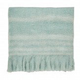 Sanderson Delphiniums Blanket Mint Throw