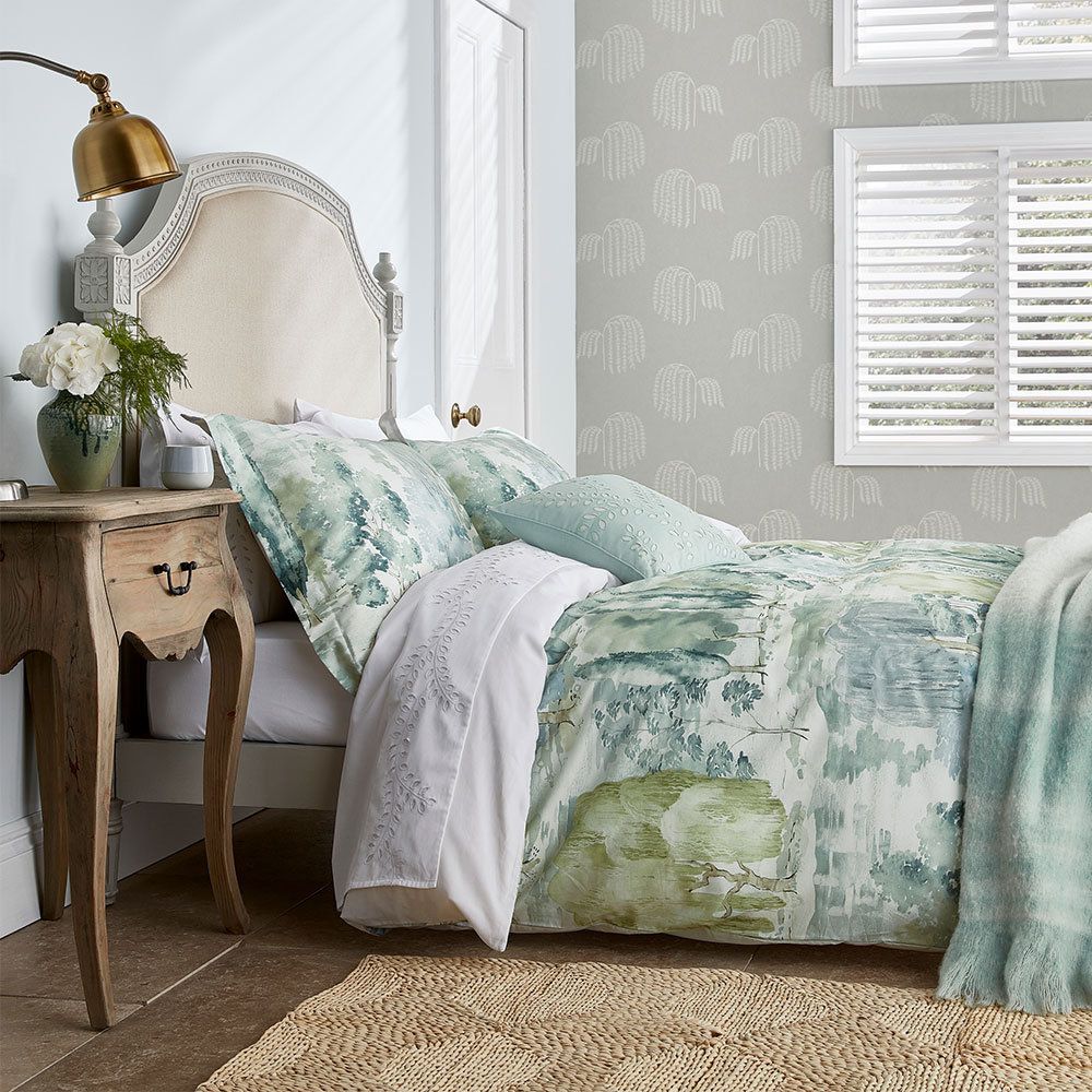 Sanderson Waterperry Duvet Cover Mint main image